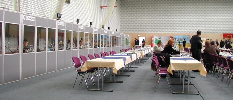 Professionelle Dolmetscher für Ihre internationale Veranstaltung. Europäische Kommission in Berlin 2004
